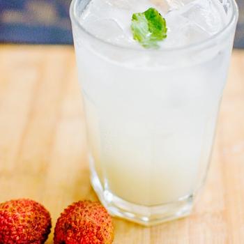 Heerlijke zomerse lyCHI Mocktail
