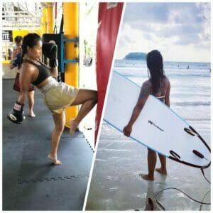 surfen en trainen phuket thailand chi academy