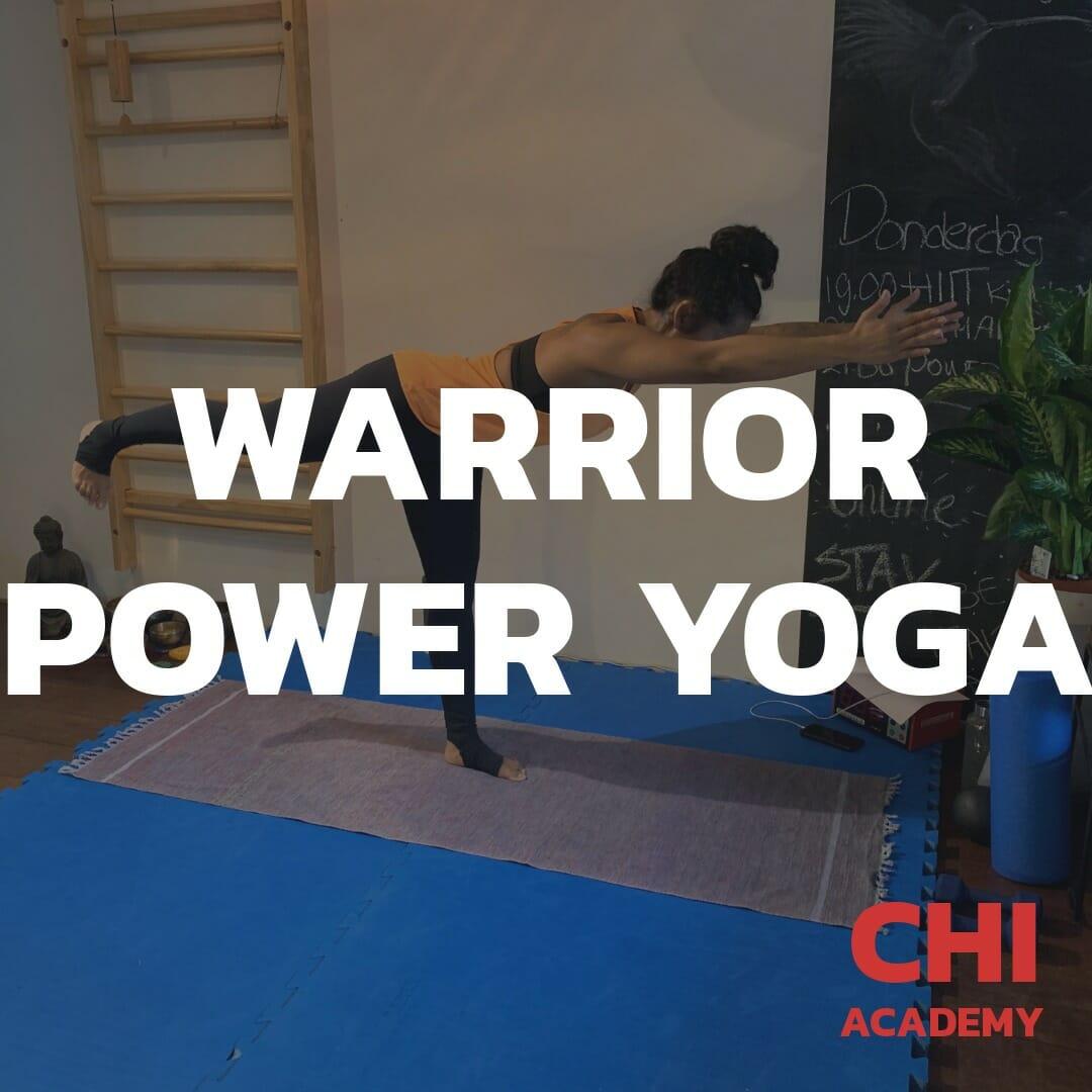 Warrior Yoga: balans, kracht, flexibiliteit